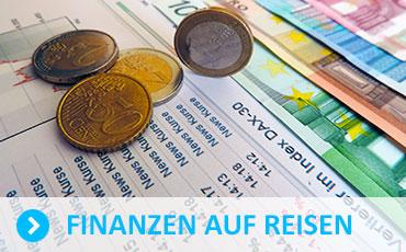 Finanzen auf Reisen. Kontoführung, DKB Konto. ING Diba. Kreditkarte.