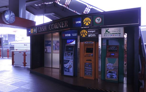 Geldautomaten in Bangkok