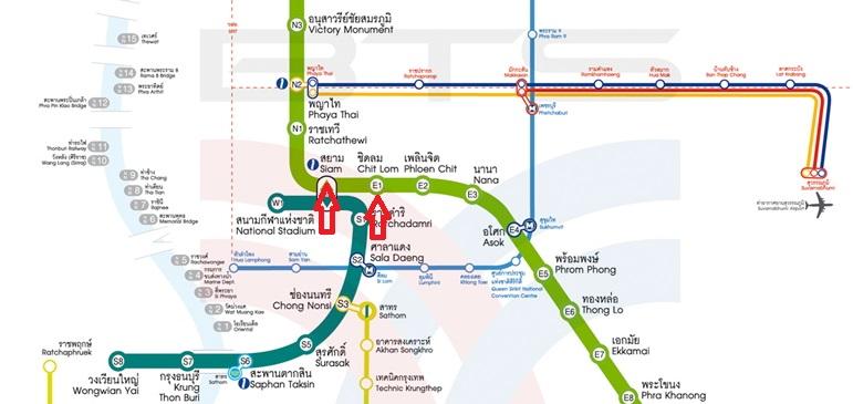 Bangkok Tipps - BTS Map