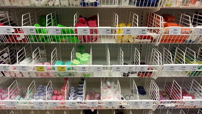 Einkaufen in Thailand - Hygieneartikel
