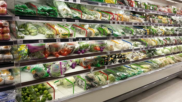Einkaufen in Thailand - Obst und Gemüse