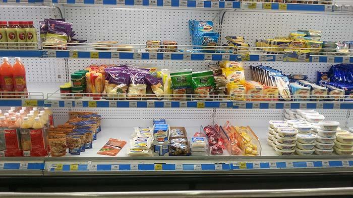 Einkaufen in Thailand - Käse & Butter