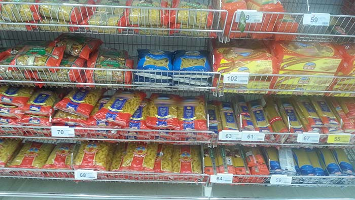 Einkaufen in Thailand - Nudeln