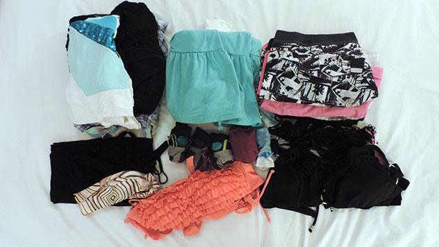 Kleidung Backpacking, Klamottten, Textilien