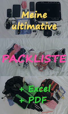 Backpacking-Packliste