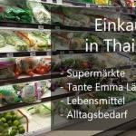 Einkaufen in Thailand Artikelbild